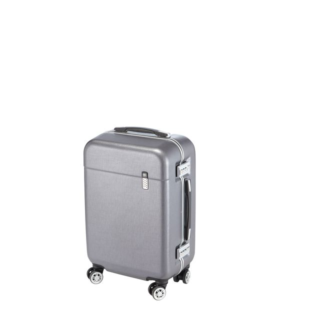 valise carrefour 4 roues Carrefour Luxe Monocanne Valise Polycarbonate 4 Roues 56 Cm