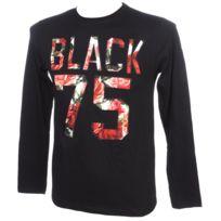 Rivaldi Black - Tee shirt manches longues Melissu black ml tee Noir 79248