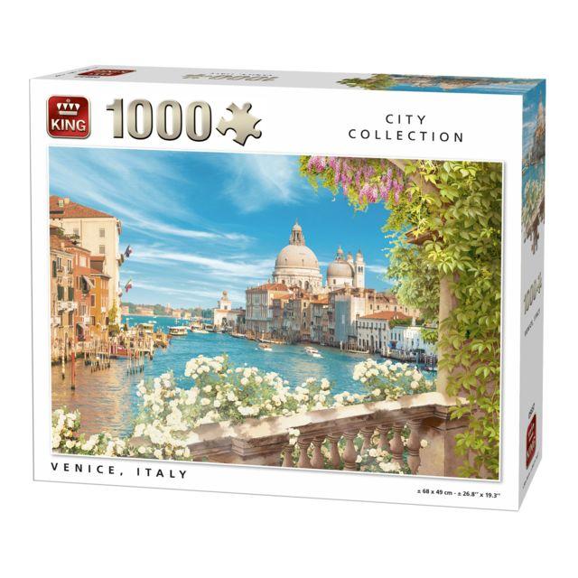 King Puzzles Puzzle 1000 pièces : Venise, Italie