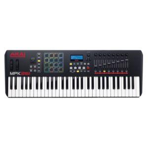 Akai - Mpk261 - clavier maître Usb 61 notes