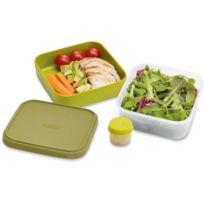 Joseph Joseph - Joseph & Joseph GoEat Boite à salade 3-en-1 - vert Ustensile de préparation