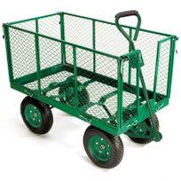 Ose - Chariot remorque de jardin en métal capacité 300 kg