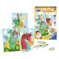Ravensburger - Kit créatif Ma première mosaïque : Dragons
