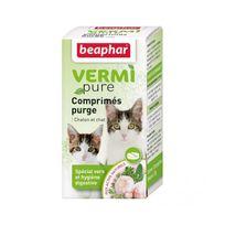 Beaphar - Comprimés de purge aux plantes pour chat Vetonature 50 comprimés
