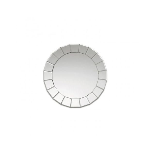 Deknudt Mirrors Miroir design Fiori Contemporain Ovale Naturel 61 cm