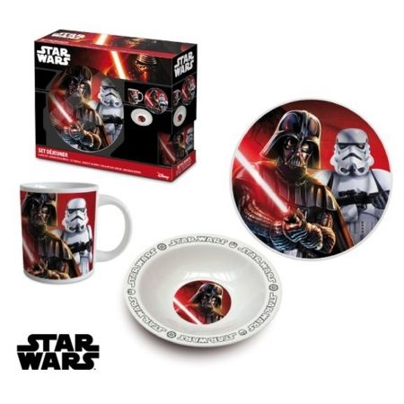 Star Wars Set Déjeuner 3pcs