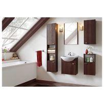 Chloe Design - Ensemble salle de bain Flea wenge