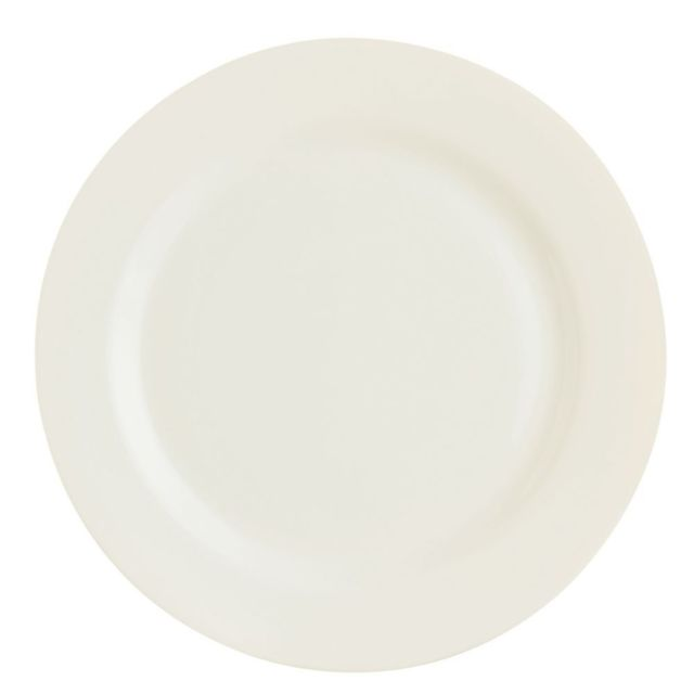 Arcoroc Assiette plate ronde 16cm blanc-crème en zenix - Lot de 6 - Intensity