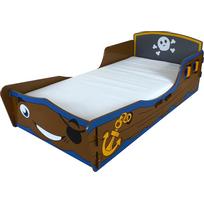 Kidsaw - Lit enfant Pirate en bois 70 x 140 cm