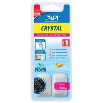 Api - Dose filtration Crystal T1 x2 Pour aquarium
