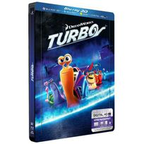 Dreamworks Skg - Turbo Edition Deluxe Combo Blu-ray + 2D + Dvd