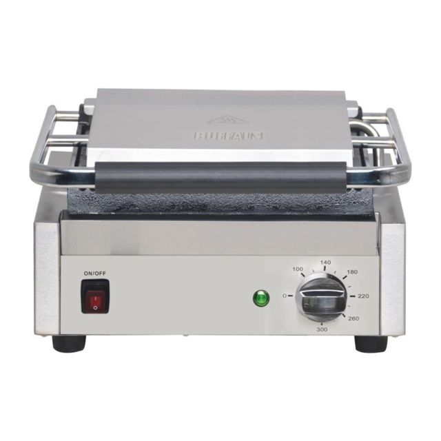 Buffalo Grill Panini Professionnel Lisse - 380 x 395 mm