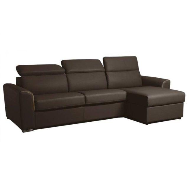 inside 75 canap d 39 angle r versible ouverture rapido imola matelas 18cm couchage 120cm cuir. Black Bedroom Furniture Sets. Home Design Ideas