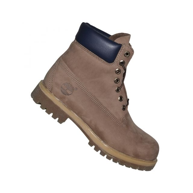 8d241d0285b Timberland - Chaussures Boots - Timberland - 6 In Premium 6767r - Mid Brown Marron  Clair