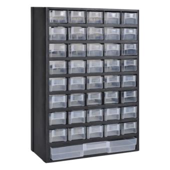 Rocambolesk   Superbe 41 Tiroirs Armoire/module De Rangement Plastique Neuf