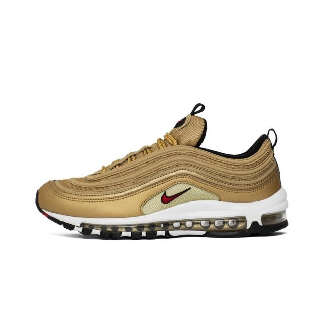 detailed look 3174c ef565 Nike - Air Max 97 Og Qs Metallic Gold Doré - 41 - pas cher Achat   Vente  Baskets homme - RueDuCommerce