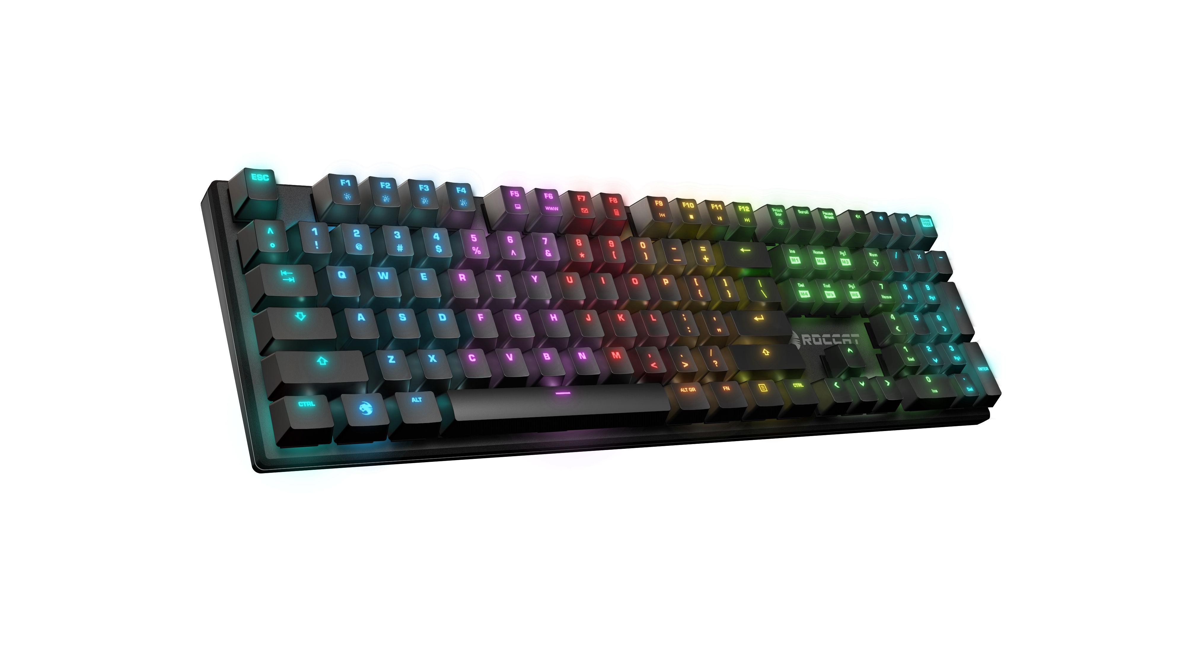 Suora FX, RGB Illuminated Frameless Mechanical Gaming Keyboard