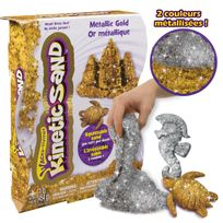 KINETIC SAND - Pack sable or et argent 450g - 6026411