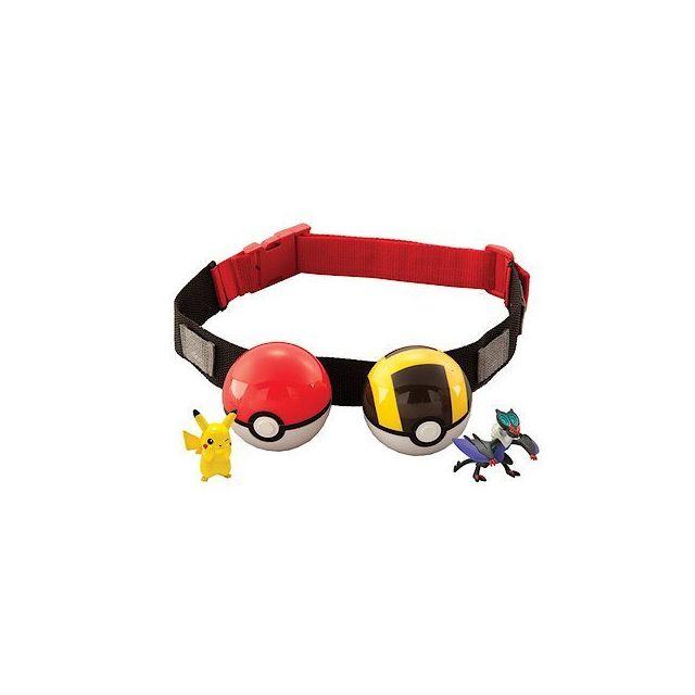 incroyable sélection code promo bas prix Tomy - Pokemon Ceinture de Poké Ball dresseur Pokémon - pas ...