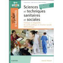 Elsevier-masson - fiches d'activités ; sciences et techniques sanitaires et sociales ; tale St2S 3e édition