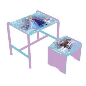 la reine des neiges bureau enfant et tabouret pas cher achat vente rueducommerce. Black Bedroom Furniture Sets. Home Design Ideas