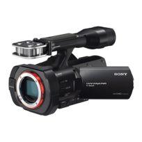 Sony - Camescope Nex Vg900