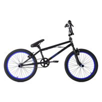 KS CYCLING - BMX Freestyle 20'' Yakuza noir-bleu
