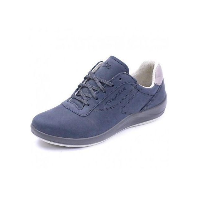 5afe58b8c1c7b Tbs - Chaussures de Marche Anyway Cuir Bleu Femme - pas cher Achat   Vente  Chaussures de ville homme - RueDuCommerce