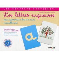 Eyrolles - les lettres rugueuses ; pour apprendre à lire et à écrire naturellement ; coffret
