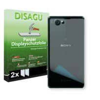 Disagu - Sony Xperia D5503 le derrière film de protection d'écran - 2 x Film blindé pour Sony Xperia D5503 le derrière film de protection contre la casse
