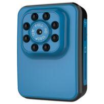Wewoo - Caméra sport bleu Full Hd 1080 P 2.0MP Mini Caméscope d'Action, 120 Degrés Grand Angle, Soutien Vision Nocturne / Détection de Mouvement