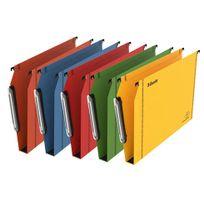 Esselte - Dossier suspendu kraft pression fond 3 cm pour armoire - couleurs assorties - Lot de 25