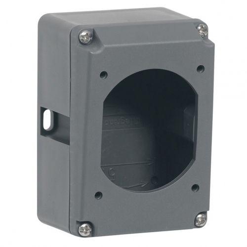 legrand boitier plastique hypra pour prise 2p t 16 amp res pas cher achat vente fiches. Black Bedroom Furniture Sets. Home Design Ideas