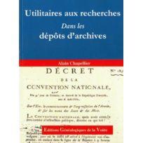 Egv - utilitaires aux recherches dans les dépôts d'archives