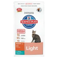 Hill'S - Science Plan - Croquettes Light au Poisson pour Chat - 1,5Kg