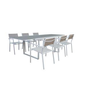 Table Plastique Jardin Carrefour. Table De Jardin Aluminium ...
