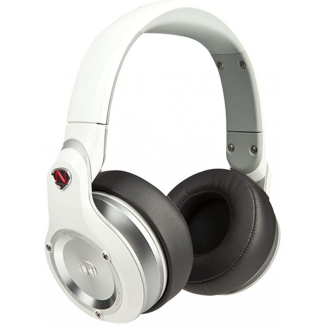 Monster N-pulse Blanc - Casque