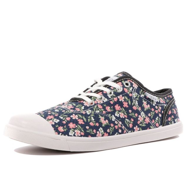 4c37a23784b3f Kappa - Keysy Femme Chaussures Fleurs Multicouleur 37 - pas cher Achat    Vente Baskets homme - RueDuCommerce