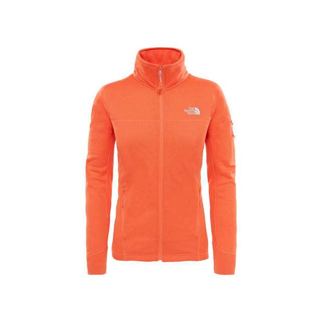 The north face - Polaire Kyoshi Full Zip orange femme Multicolour - pas  cher Achat   Vente Gilets, polaires - RueDuCommerce 4f368332bbed