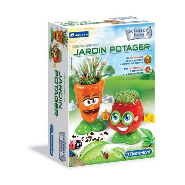 Clementoni Science et jeu : Crée ton jardin potager