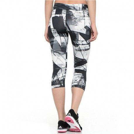 Adidas originals Collant 34 Noir Entrainement Femme