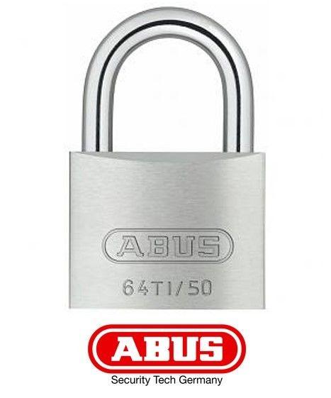 Abus - Cadenas 64 Titalium 45mm Spécial Extérieur