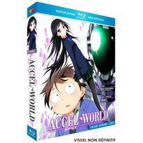 Black Balloons - Accel World Coffret intégral 3 Blu-Ray