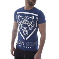 Plein Sport - Tee Shirt Coton Logoté Mtk0564