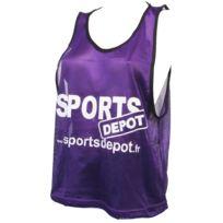 Les Fous Du Foot - Chasuble débardeur Sportdepot vlt chasuble Violet 72828