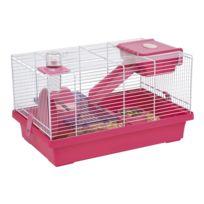 Les Animaux De La Fee - Cage Mica Fuschia Pour Hamster Et Souris