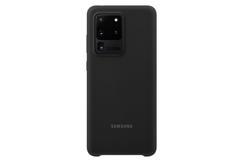 Coque Silicone pour Galaxy S20 ULTRA Noir