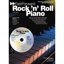 Wise Publications - Worrall Bill - Fast Forward - Rock'n' Roll + Cd - Piano