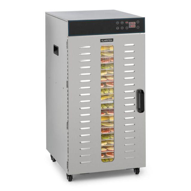KLARSTEIN Master Jerky 300 Déshydrateur 20 plateaux 2000W - Température de 40 à 90 °C - Inox