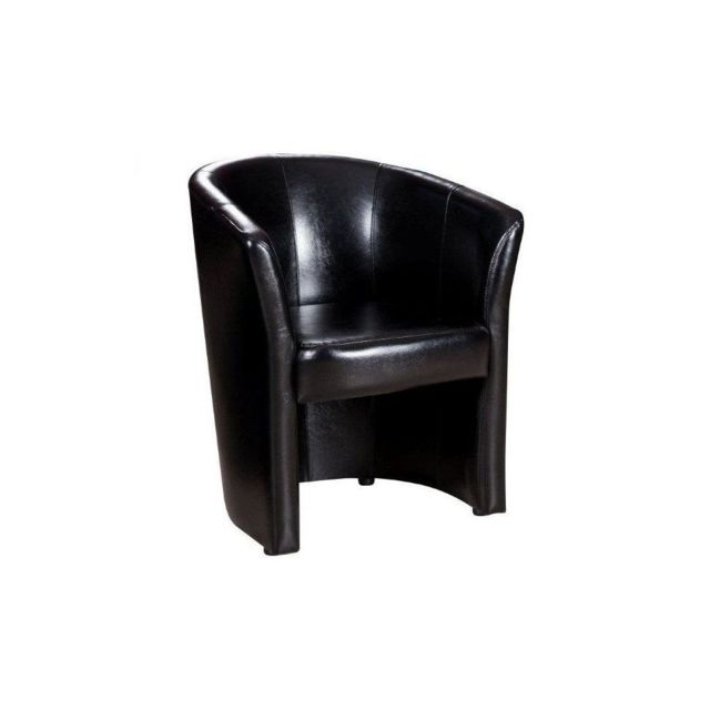 gnrique fauteuil cabriolet belize noir brillant - Cabriolet Fauteuil